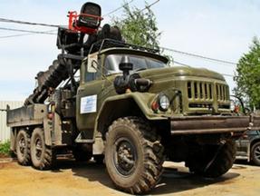 Бурильно-крановая машина на базе ЗИЛ-131