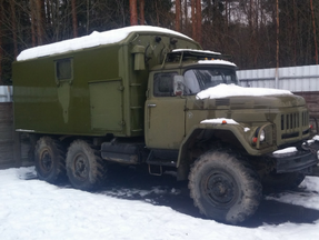 ЗИЛ-131 с кунгом